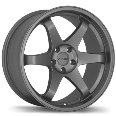Fast Wheels Hayaku Satin Grey wheel (19X10.5, 5x120, 74.1, 35 offset)