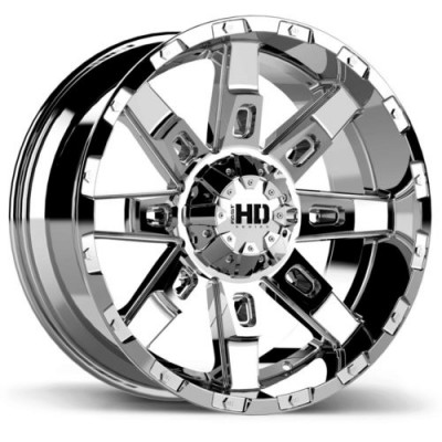 Fast Wheels Wildcat Chrome wheel (18X9.0, 6x135/139.7, 106.1, 15 offset)