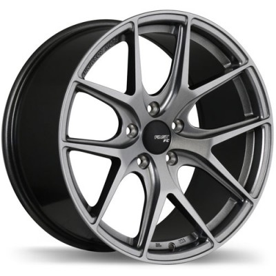 Fastwheels FC04 Titanium wheel (18X10, 5x120, 72.6, 35 offset)