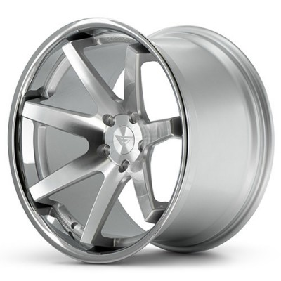 Ferrada Wheels FR1 Machine Silver wheel (20X10.5, 5x112, 66.56, 20 offset)