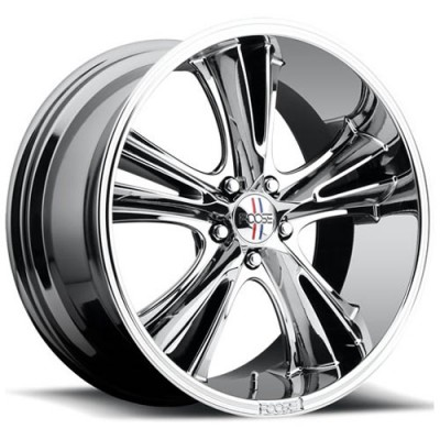 FOOSE Knuckle Buster F151 Chrome wheel (20X10, 5x114.3, 72.6, 45 offset)