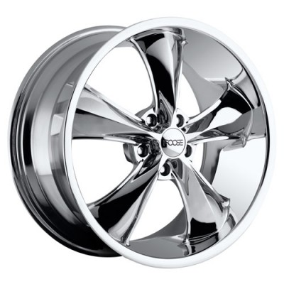 FOOSE NITROUS F117 Chrome wheel (17X8, 5x120.7, 72.6, 0 offset)