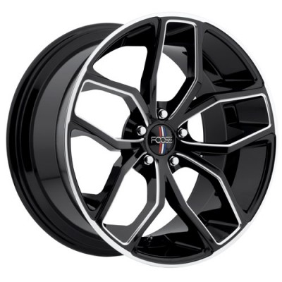 FOOSE OUTCAST F150 Machine Black wheel (18X8, 5x120, 72.6, 40 offset)