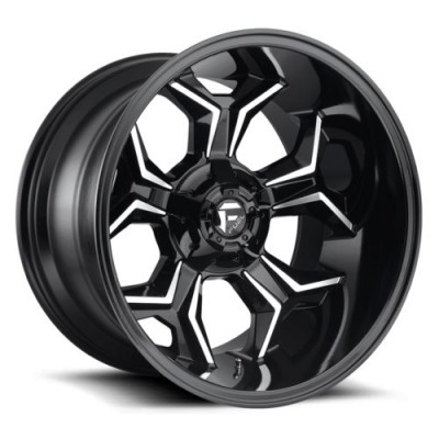 FUEL Avenger D606 Gloss Black Machine wheel (20X10, 5x127/135, 87.1, -18 offset)