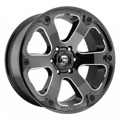 FUEL Beast D562 Machine Black wheel (18X9, 6x139.7, 108, -12 offset)