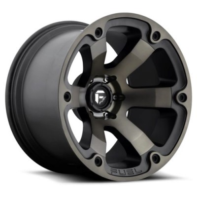 FUEL Beast D564 Machine Black wheel (22X12, 5x139.7, 108, -44 offset)