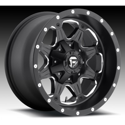 FUEL Boost HO D534 Machine Black wheel (18X9, 8x170, 125.2, 1 offset)