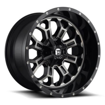 FUEL Crush D561 Machine Black wheel (20X9, 8x170, 125.1, 1 offset)