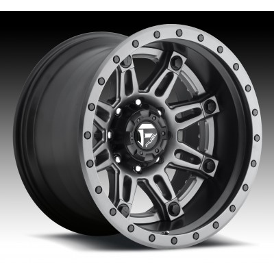 FUEL Hostage II D232 Matte Gun Metal wheel (20X10, 8x170, 125.2, -19 offset)