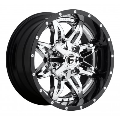 FUEL Lethal D266 Chrome wheel (20X10, 8x170, 125.2, -19 offset)
