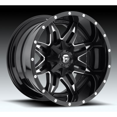 FUEL Lethal D267 Machine Black wheel (22X10, 8x170, 125.2, -13 offset)