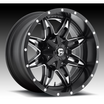 FUEL Lethal D567 Machine Black wheel (14X7, 4x156, 132, 13 offset)