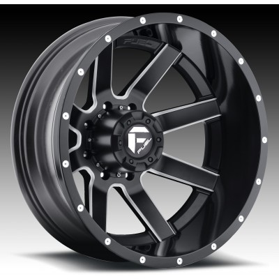 FUEL Maverick D262 large Machine Black wheel (22X10, 8x170, 125.2, -13 offset)