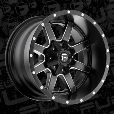 FUEL Maverick D538 XL Machine Black wheel (20X12, 5x127/135, 87.1, -44 offset)