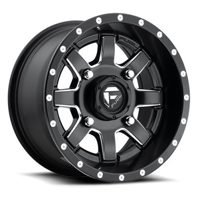 FUEL Maverick UTV D538 Machine Black wheel (14X7, 4x156, 115.1, 13 offset)