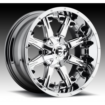 FUEL Nutz D540 Chrome wheel (17X9, 8x170, 125.1, 1 offset)