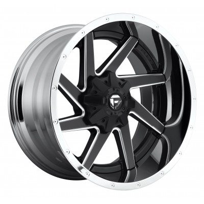 FUEL Renegade D264 Machine Black wheel (20X10, 8x170, 125.2, -19 offset)