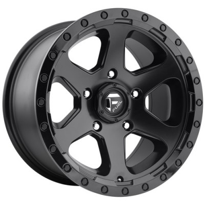 FUEL Ripper D589 Matte Black wheel (16X8, 5x127, 78.1, 1 offset)