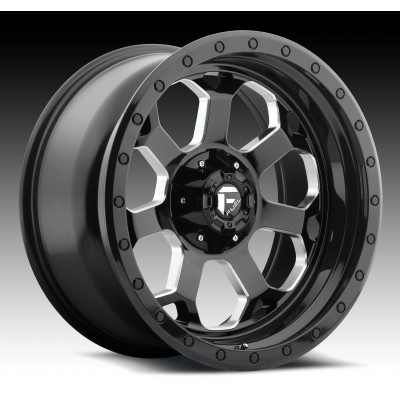 FUEL Savage D563 Machine Black wheel (18X9, 5x114.3/127, 78.1, -12 offset)