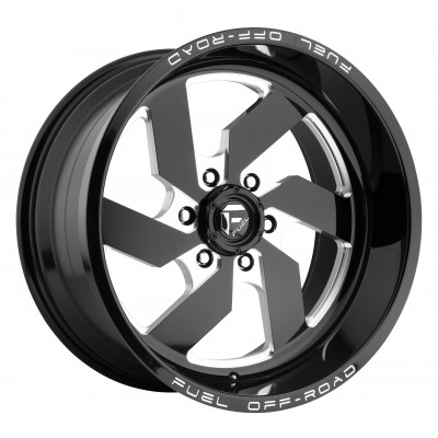 FUEL Turbo D582 Machine Black wheel (17X9, 6x139.7, 108, 20 offset)