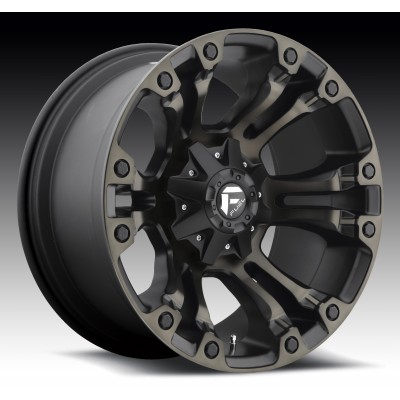 FUEL Vapor D569 Machine Black wheel (15X8, 5x114.3/120.7, 72.6, -16 offset)