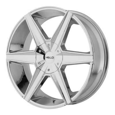 Helo Wheels HE887 Chrome wheel (20X8.5, 5x114.3/120.65, 72.6, 38 offset)