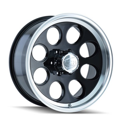 Alloy Ion 171 Black Machine Lip wheel (20X9, 8x170, 130.8, 0 offset)