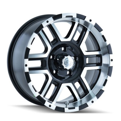 Alloy Ion 179 Machine Black wheel (20X9, 6x135, 87, 30 offset)