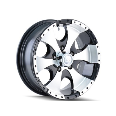 Ion Trailer 136 Machine Black wheel | 14X6, 5x114.3, 83.82, 0 offset