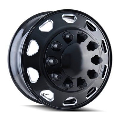 Ionbilt IB02 Black wheel (22.5X8.25, 10x285.75, 220.1, 169 offset)