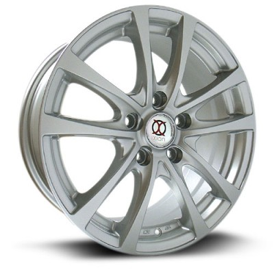 IXION IX002 Silver wheel (16X7, 5x100, 73.1, 40 offset)