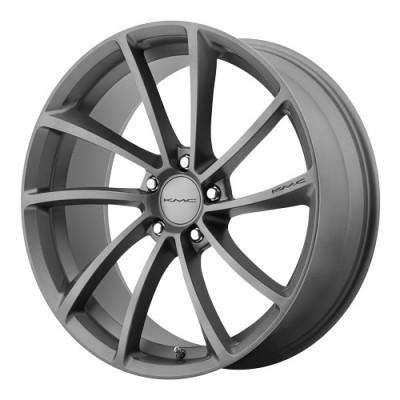 KMC Wheels Spin Gun Metal wheel (20X8.5, 5x112, 72.6, 35 offset)