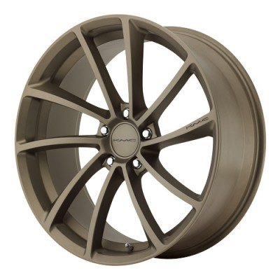 KMC Wheels Spin Matte Bronze wheel (20X10, 5x114.3, 72.6, 40 offset)