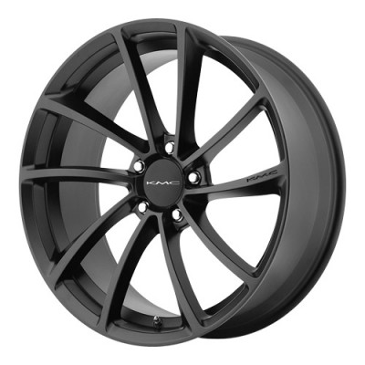 KMC Wheels Spin Satin Black wheel (20X10, 5x112, 72.6, 40 offset)