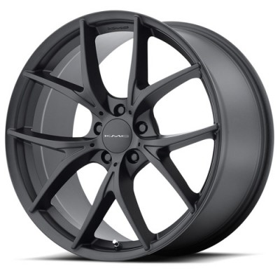 Kmc KM694 Wishbone Satin Black wheel (22X9, 5x115, 72.6, 44.93 offset)