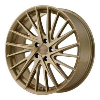 KMC KM697 NEWTON Gold wheel (20X8.5, 5x112, 66.56, 35 offset)