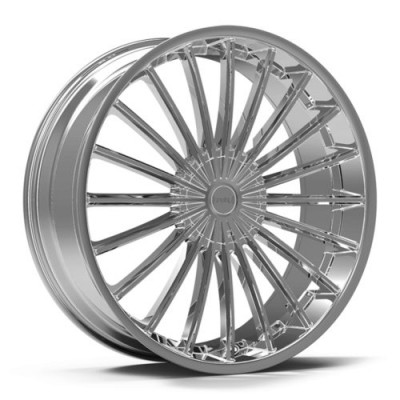 KRONIK KUSH Chrome wheel (22X8.5, 5x108/114.3, 73.1, 40 offset)