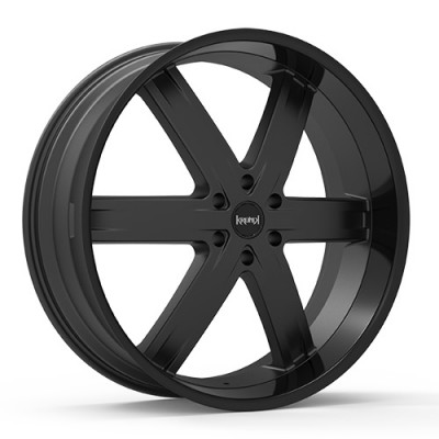 KRONIK ZERO Black wheel (26X9.5, 6x135, 100.3, 25 offset)