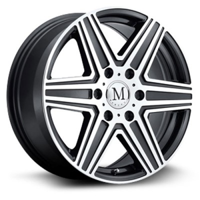 Mandrus Atlas 6 Machine Gunmetal wheel (17X7.5, 6x130, 84, 56 offset)