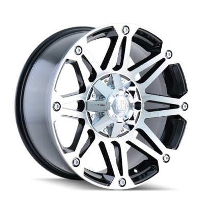 Mayhem RIOT Machine Black wheel (20X9, 6x135/139.7, 108, -12 offset)