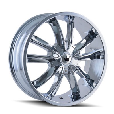 Mazzi OBSESSION 366 Chrome wheel (20X8.5, 5x114.3/127, 72.62, 35 offset)