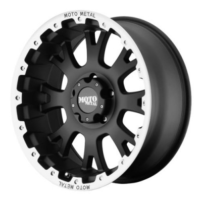 Moto Metal MO956 Matt Black Machine wheel (17X9, 5x127, 78.30, -12 offset)