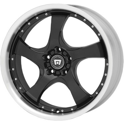 Motegi DV5 Gloss Black wheel (17X7, 4x100, 72.6, 42 offset)