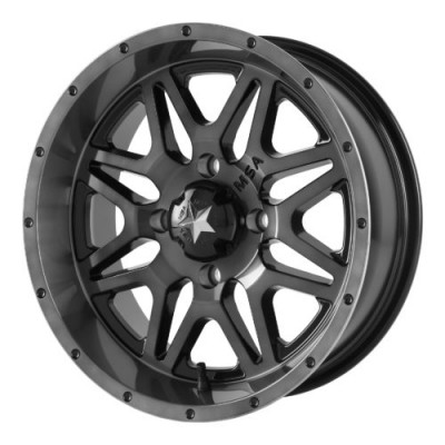MSA Offroad Wheels M26 VIBE Grey wheel (14X7, 4x110, 86.00, 0 offset)