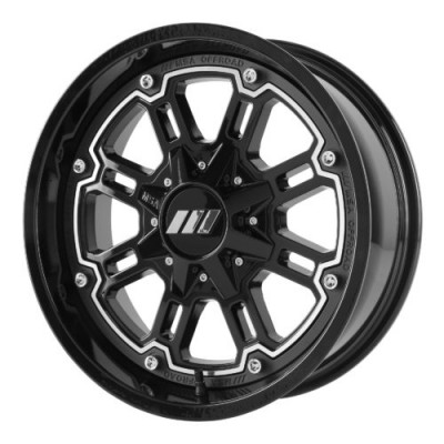 MSA Offroad Wheels M30 THROTTLE Machine Black wheel (20X7, 4x137, 112.00, 0 offset)