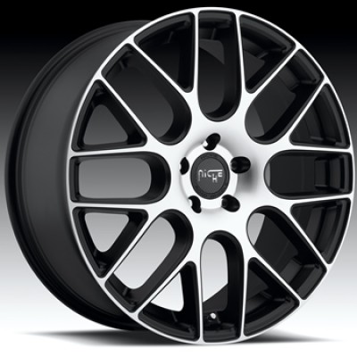 NICHE Circuit M108 Machine Black wheel (20X8.5, 5x114.3, 72.6, 35 offset)