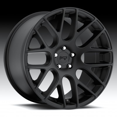 NICHE Circuit M110 Matte Black wheel (18X8, 5x120, 72.6, 30 offset)