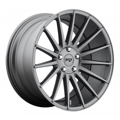 NICHE Form M157 Matte Gun Metal wheel (19X8.5, 5x120, 72.6, 35 offset)