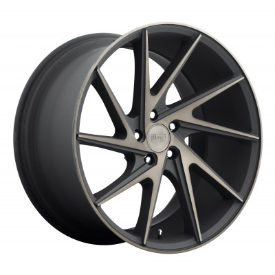 NICHE Invert M163 Machine Black wheel (20X10.5, 5x114.3, 72.6, 45 offset)