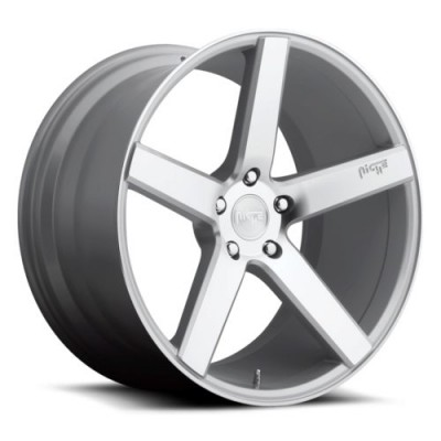 NICHE Milan M135 Machine Silver wheel (19X8.5, 5x120, 72.6, 35 offset)